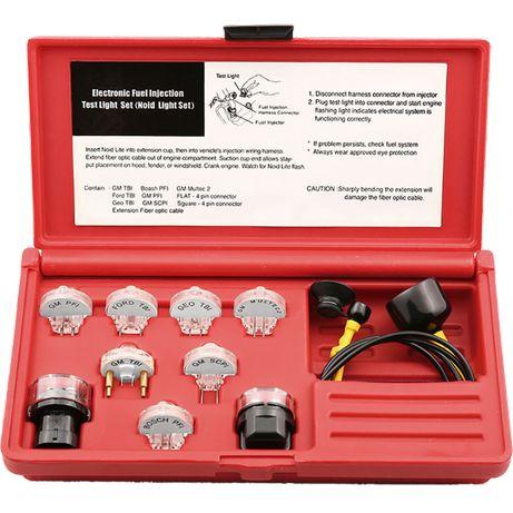 Kit Teste Sistema Injecção Eléctrica a Gasolina 11 peças
