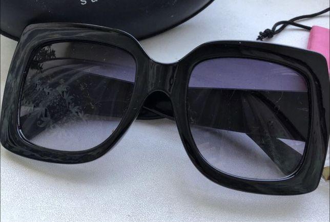 Очки солнцезащитные gepur в квадратной оправе