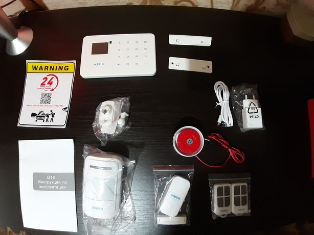 GSM сигнализация Kerui полный комплект .Новая