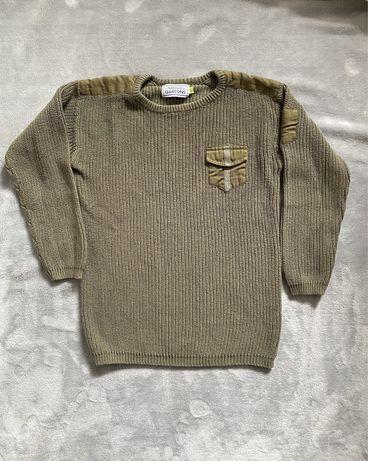Camisola em algodão de menino verde ( estilo Zara) - 10 anos.