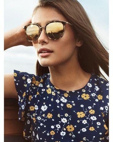 Очки MICHAEL Michael Kors Adrianna I Sunglasses Gold