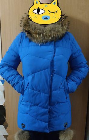 Зимняя теплая курточка