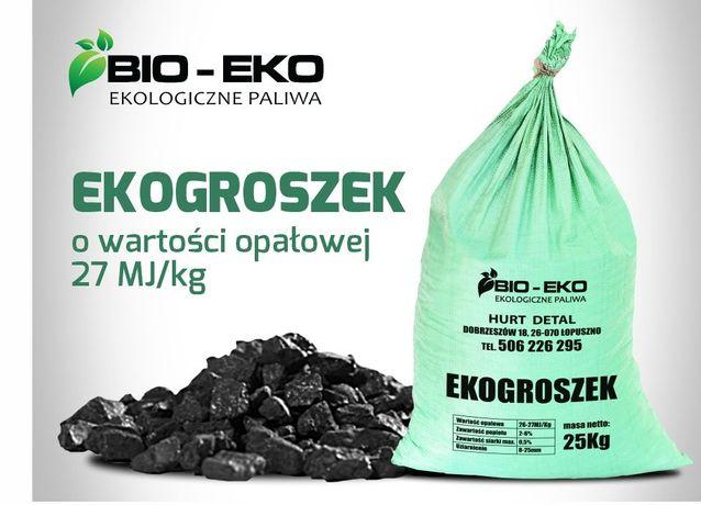Ekogroszek workowany 25kg , luz, Pellet BIO-EKO