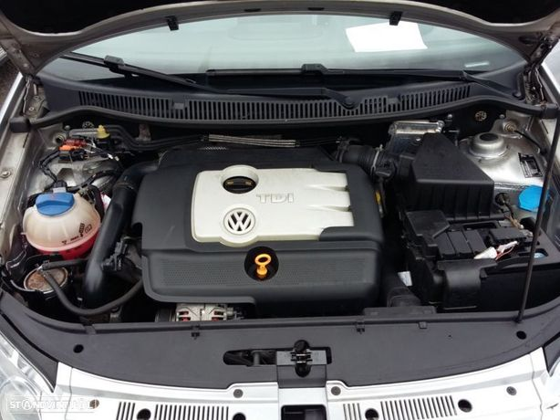 Motor Volkswagen Polo 1.4Tdi 80cv BMS Caixa de Velocidades Arranque + Alternador