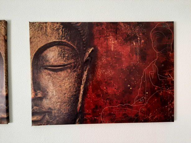 Quadro Budha - conjunto 2 quadros