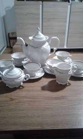 Serwis kawowy Wałbrzych porcelana PRL Vintage