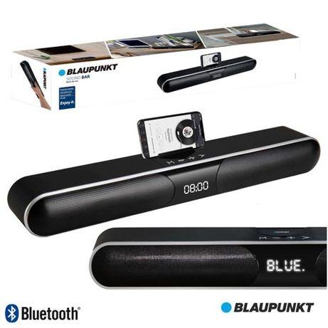 Barra de Som S/Fios com Comando BT, 2X10W ,USB/SD, CABO AUX BLAUPUNKT