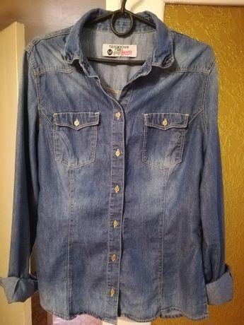 Женская джинсовая рубашка Terranova