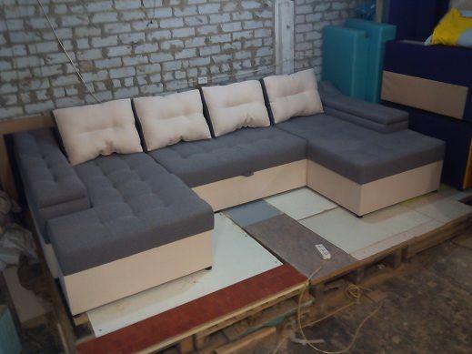 П-образный диван Хост плюс