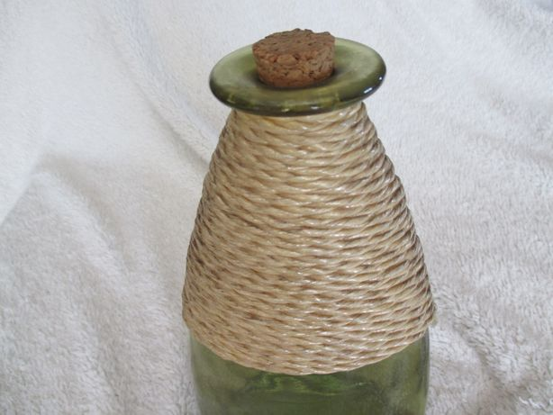 Garrafa verde