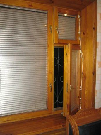 Балконные рамы, окна из дерева