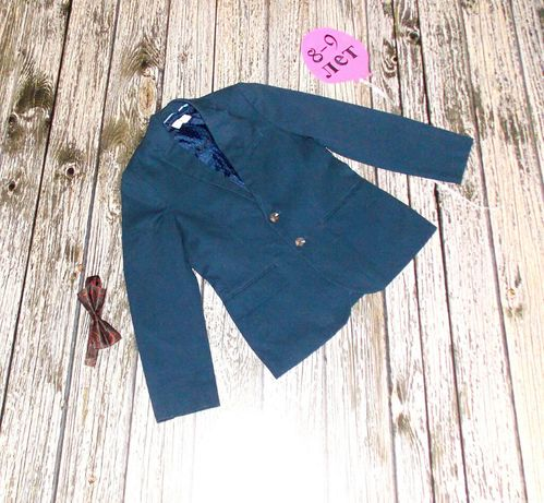 Школьный пиджак H&M для мальчика 8-9лет,128-134 см