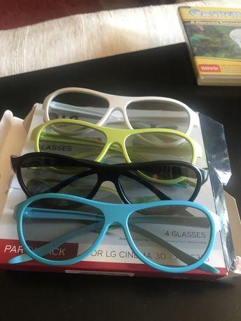 Óculos para ver Televisao em 3D.