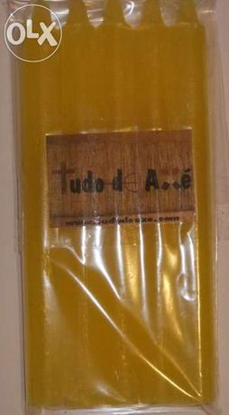 Velas coloridas de 15cm pack com 5 unidades – Tudo de Axé