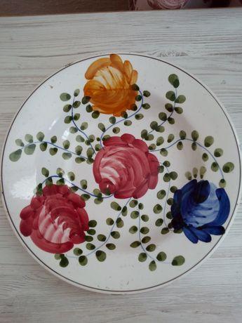 Старовинна настінна  тарілка