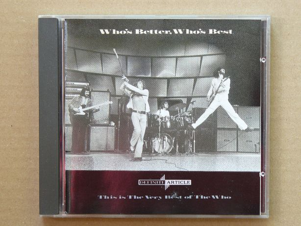 cd The Who - Who's Better, Who's Best 1988 1wyd.UK/EU tł.GERMANY