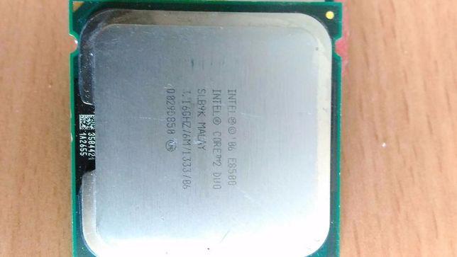 Processador cpu 775 dual core i ntel E8500