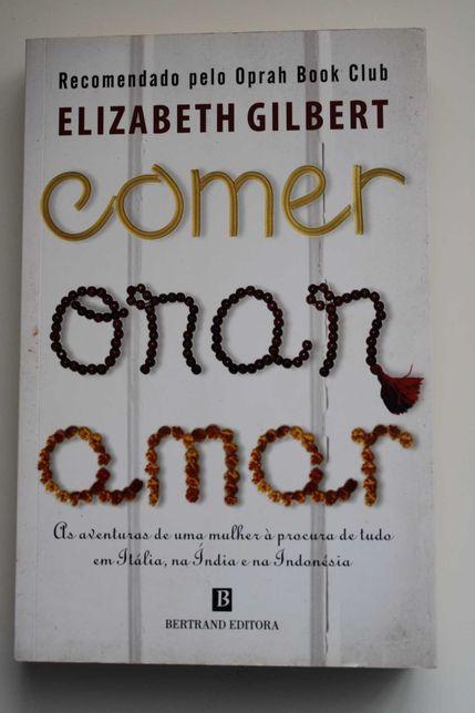 """Livro- """"Comer, Orar, Amar"""" ( com portes incluídos)"""