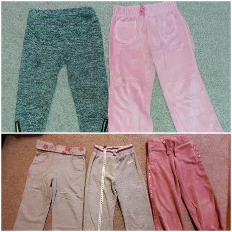 5 par spodni (w tym szare cieplejsze)