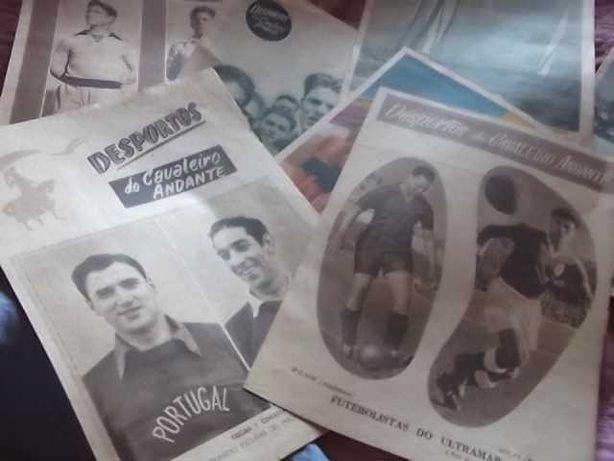 DESPORTOS CAVALEIRO ANDANTE Ano 1953 - nº67/75/113/122/124/130/136