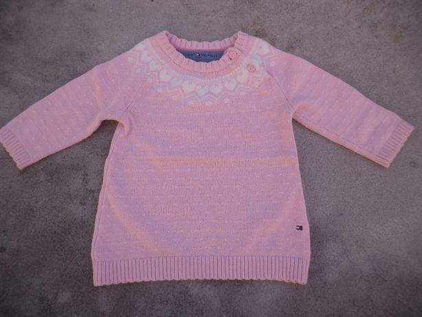 Vestido de malha Tommy Hilfiger para bebé 3-6 Meses
