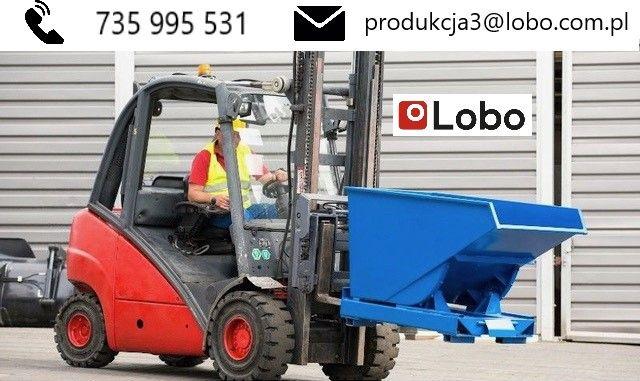 Kontener samowyładowczy. TK 1500 Koleba 1500L