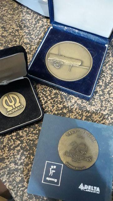 Medalhas para coleção