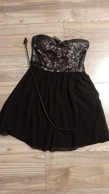 Sukienka cekiny nowa z metką
