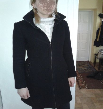 Płaszcz zimowy damski- wełna! ZARA !