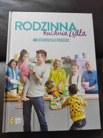 Książka kucharska Rodzinna kuchnia Lidla