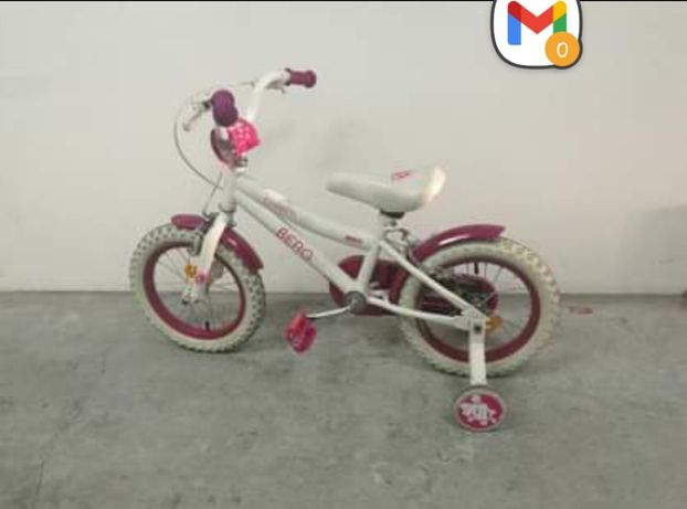 Bicicleta Berg Charm Kids roda 12 menina 3-5 anos