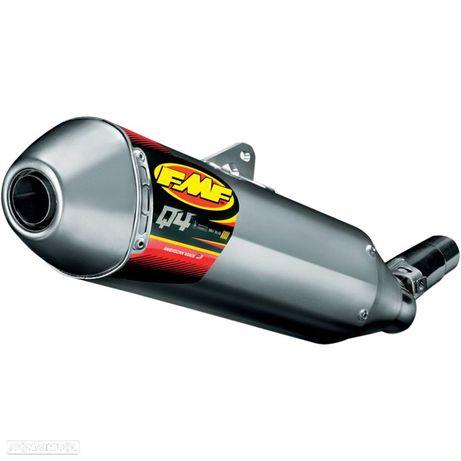 ponteira de escape fmf powercore 4 hex slip-on muffler aluminum honda crf 250