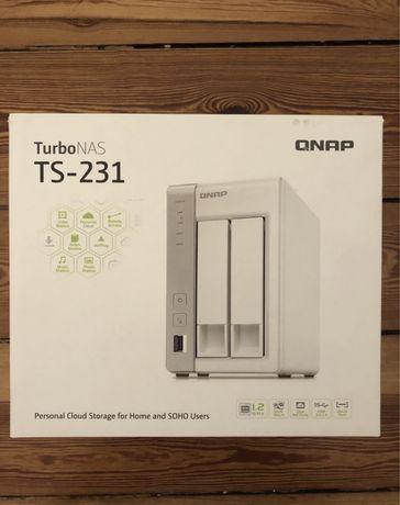 Serwer QNAP TS- 231 + Dysk WD Red Plus 6 TB