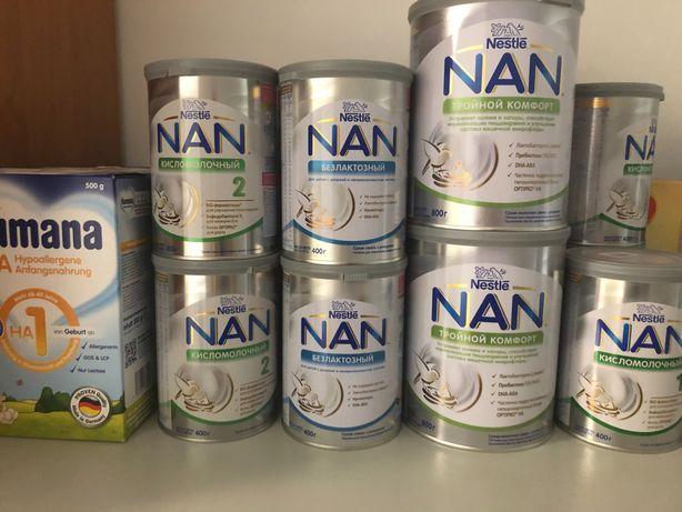 Дитяче харчування  Nan, Humana