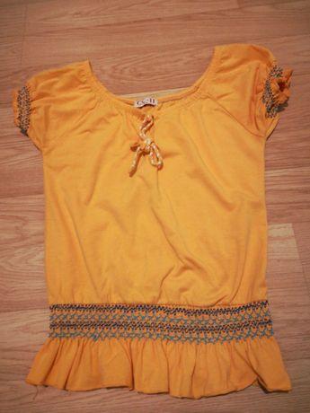 Bluzka roz S/M żółta