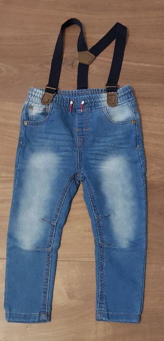 _Pepco_ Spodnie jeansy szelki 98 cm / 2-3L Koszalin - image 1