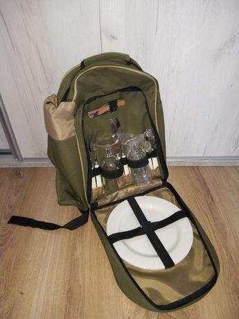 Plecak turystyczny plecak z zastawą randka zaręczyny z talerzami