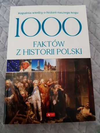 Książka 1000 faktów z historii Polski nowa