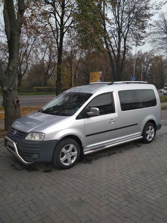 VW Caddy MAXI 7 місць