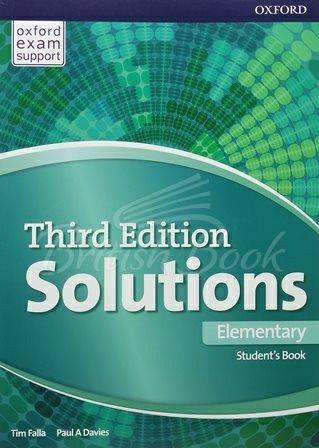 Solutions Third Edition Elementary Student's Book  чорно-білі