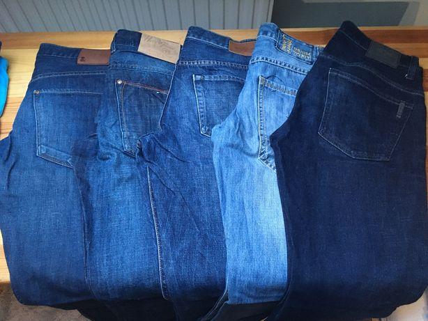 Sprzedam dżinsy męskie 5 PAR na wzrost 170 cm W30L34
