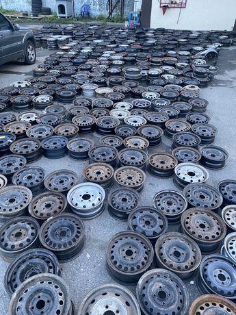 Диски R13,R14,R15,R16 железные , стальные , шины , склад ,