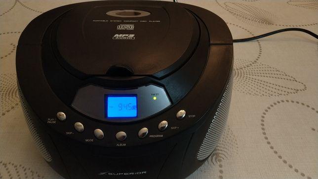 Mocny boombox radio SUPERIOR - CD