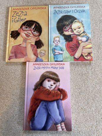Zezia i Giler, Agnieszka Chylińska, książki dla dzieci