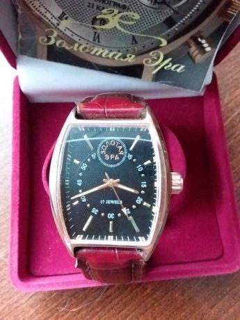 Мужские золотые механические часы бренда  Золотая Эра (золота 40гр)