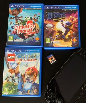 Gra PS Vita Little Big Planet / Harry Potter / Lego Chima