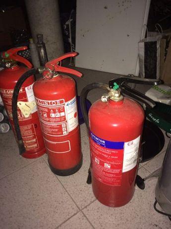 Extintores de pó químico de 6 kg