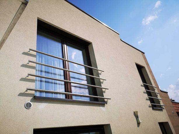 Balustrady barierki nierdzewne balustrada balkony tarasy schody INOX
