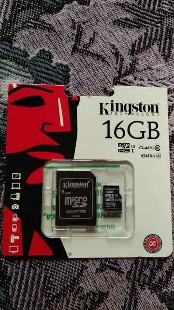 карта памяти kingston 16GB