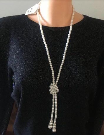 Бусы из искусственного жемчуга  fashion jewellery